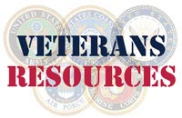 image showing text Veterans Resources